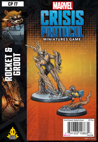 Marvel: Crisis Protocol - Rocket & Groot