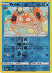 Krabby - 042/202 - Common - Reverse Holo