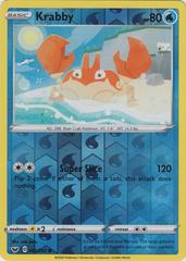 Krabby - 043/202 - Common - Reverse Holo