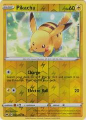 Pikachu - 065/202 - Common - Reverse Holo on Channel Fireball