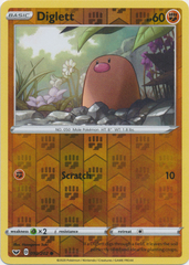 Diglett - 092/202 - Common - Reverse Holo