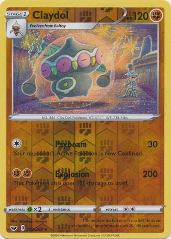 Claydol - 103/202 - Rare - Reverse Holo