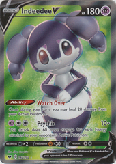 Indeedee V - 192/202 - Full Art Ultra Rare
