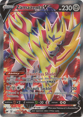 Zamazenta V - 196/202 - Full Art Ultra Rare