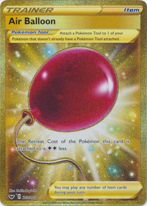 Air Balloon - 213/202 - Secret Rare