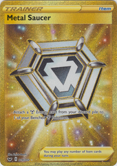 Metal Saucer - 214/202 - Secret Rare