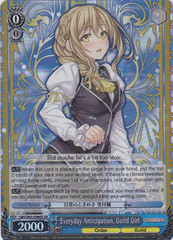 Everyday Anticipation, Guild Girl - GBS/S63-E066S - SR