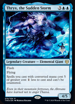 Thryx, the Sudden Storm - Foil - Promo Pack