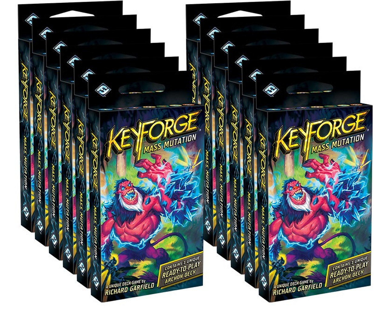 KeyForge: Mass Mutation - Archon Deck Box of 12