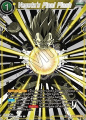 Vegeta's Final Flash - BT9-133 - IAR