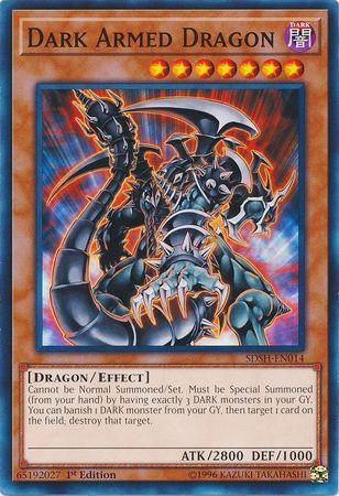 Dark Armed Dragon - SDSH-EN014 - Common - 1st Edition