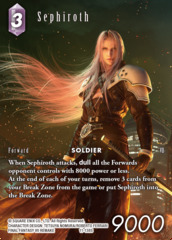 Sephiroth - 11-138S - Starter Deck Exclusive - Full Art