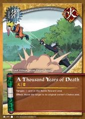 A Thousand Years of Death - J-009 - Common - 1st Edition - Wavy Foil