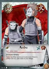 Anbu - N-082 - Super Rare - Unlimited Edition - Foil