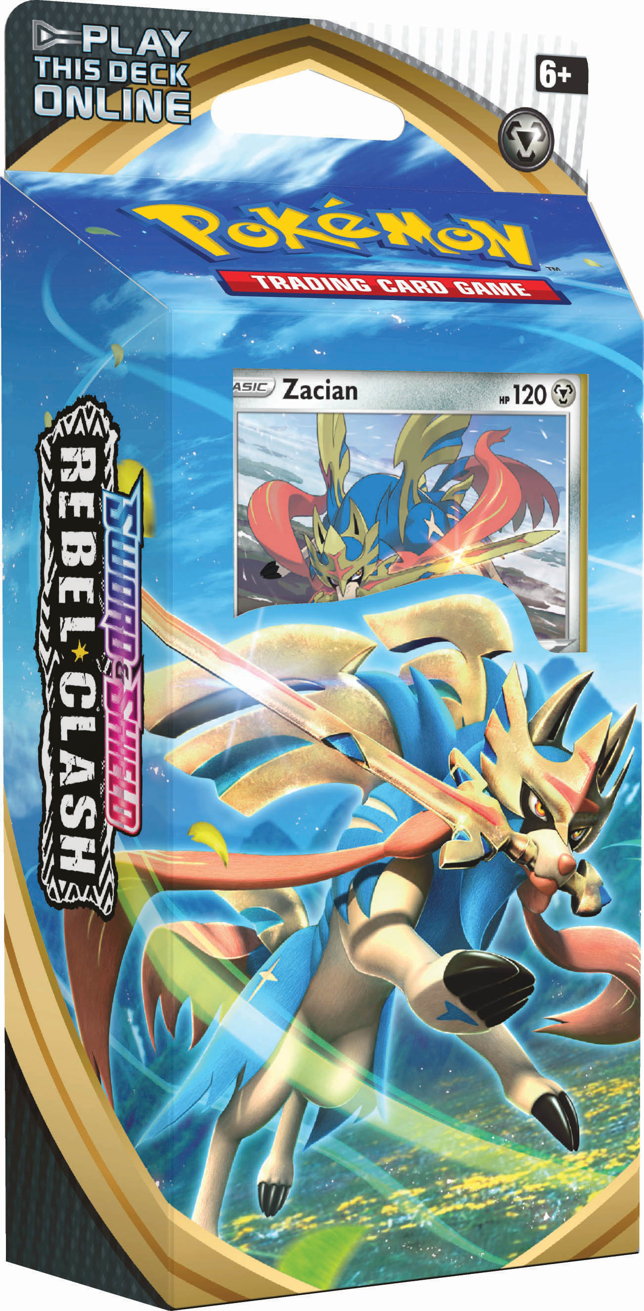 Sword & Shield - Rebel Clash Theme Deck - Zacian