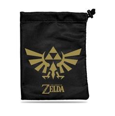 The Legend of Zelda: Black & Gold Treasure Nest Dice Accessories Bag