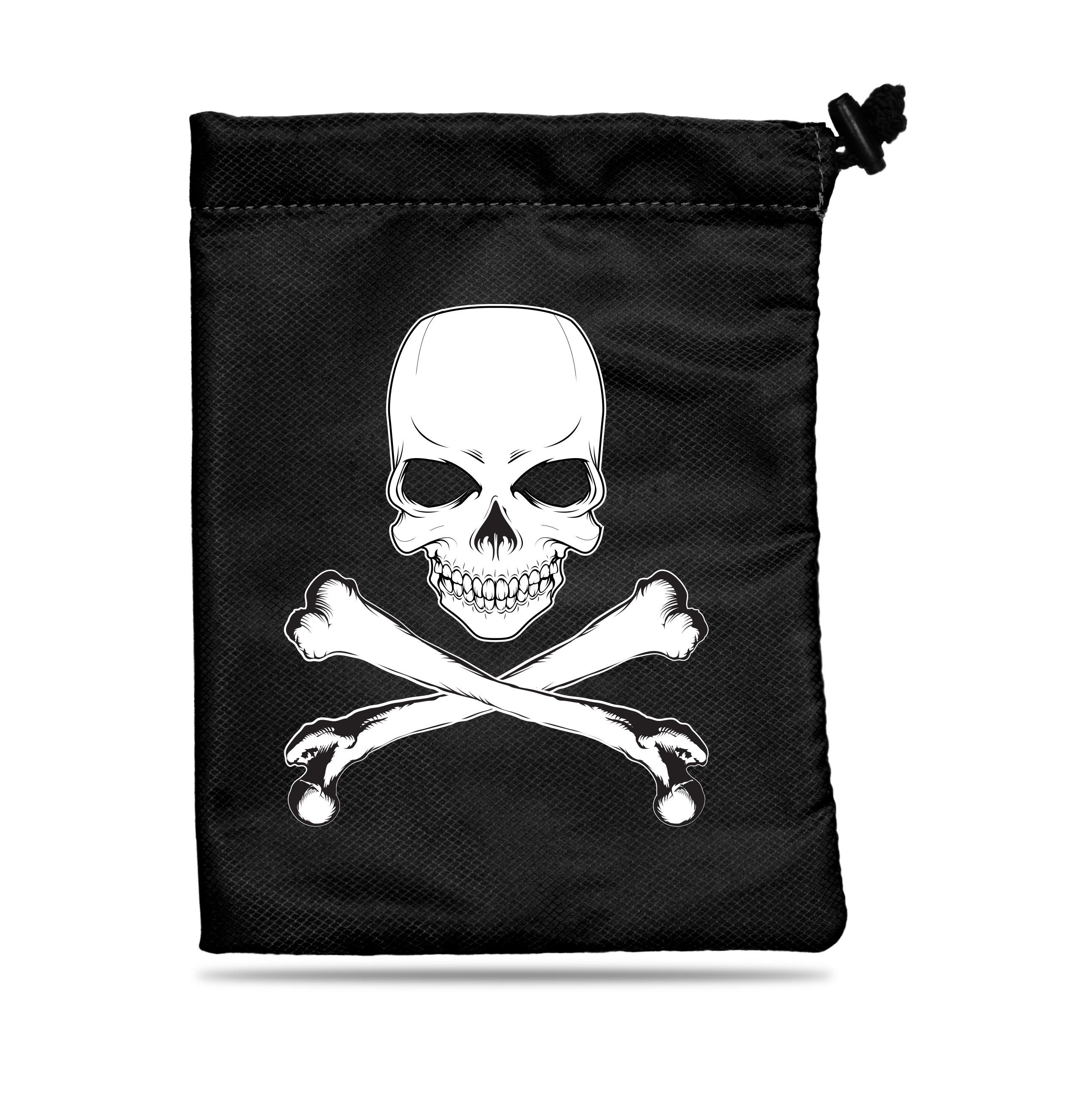 Treasure Nest - Skull & Bones Dice Accessories Bag
