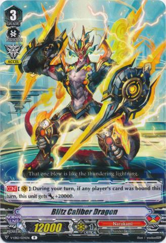 Blitz Caliber Dragon - V-EB12/024EN - R
