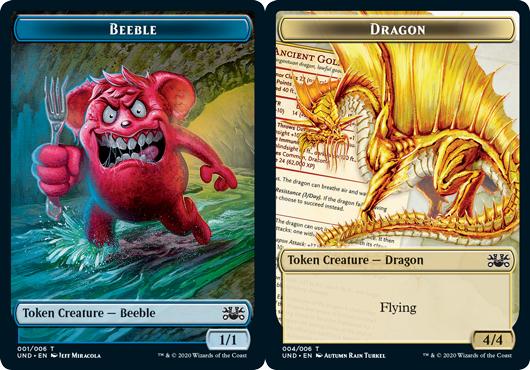 Beeble Token // Dragon Token