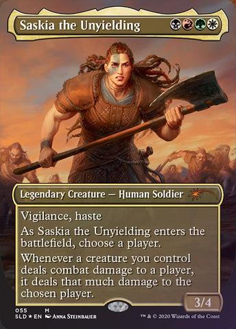 Saskia the Unyielding - Foil