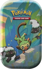 Pokemon Mini Tin - Galar Pals: Grookey & Wooloo