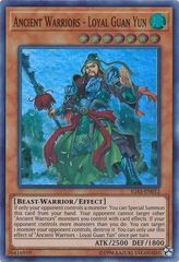 Ancient Warriors - Loyal Guan Yun - IGAS-EN012 - Super Rare - Unlimited Edition