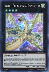 Light Dragon @Ignister - IGAS-EN044 - Super Rare - Unlimited Edition