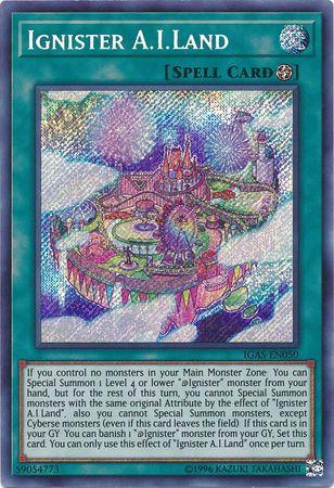 Ignister A.I.Land - IGAS-EN050 - Secret Rare - Unlimited Edition