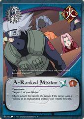 A-Ranked Mission - M-156 - Uncommon - 1st Edition - Diamond Foil