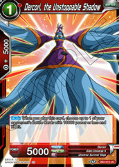 Dercori, the Unstoppable Shadow - DB2-015 - UC - Foil