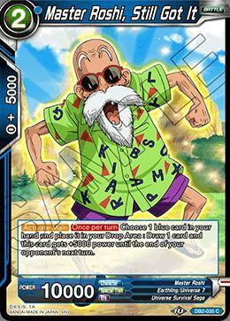 Master Roshi, Still Got It - DB2-035 - C