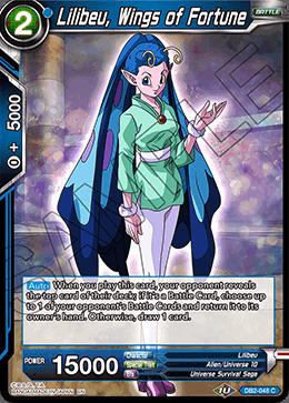 Lilibeu, Wings of Fortune - DB2-048 - C