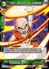 Krillin, Destructo Disc Unleashed - DB2-067 - UC