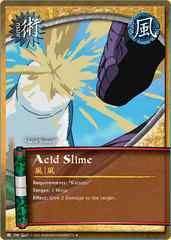 Acid Slime - J-206 - Uncommon - 1st Edition - Wavy Foil