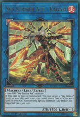 Sky Striker Ace - Kagari (alternate art) - DUOV-EN060 - Ultra Rare - 1st Edition