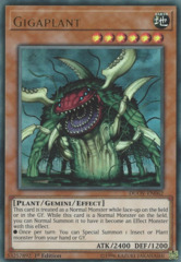 Gigaplant - DUOV-EN062 - Ultra Rare - 1st Edition on Channel Fireball