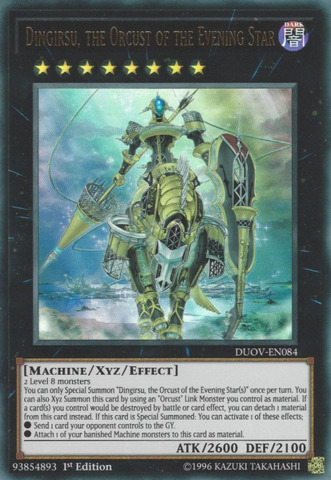 Dingirsu, the Orcust of the Evening Star - DUOV-EN084 - Ultra Rare - 1st Edition