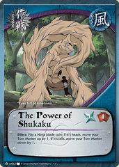 The Power of Shukaku - M-US012 - Rare - 1st Edition - Diamond Foil