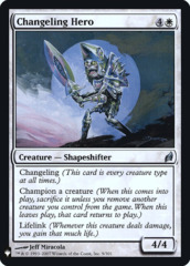Changeling Hero - Foil