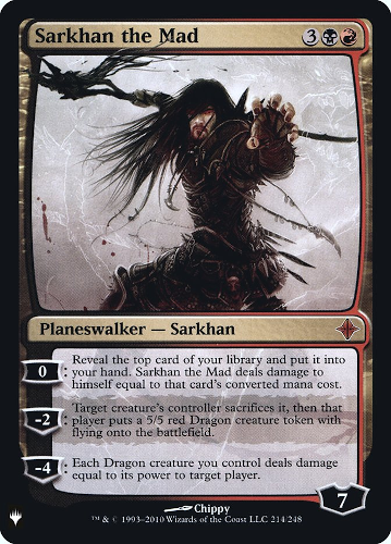 Sarkhan the Mad - Foil