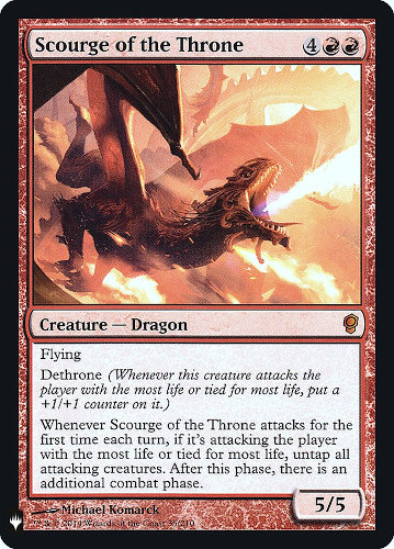 Scourge of the Throne - Foil