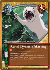 Aerial Dynamic Marking - J-218 - Common - 1st Edition - Diamond Foil