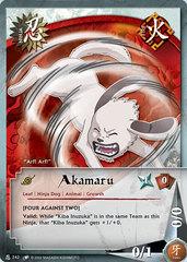 Akamaru - N-242 - Common - 1st Edition - Diamond Foil