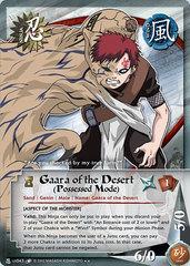 Gaara of the Desert (Possessed Mode) - N-US043 - Rare - Unlimited Edition