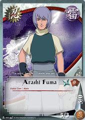 Arashi Fuma - N-303 - Common - 1st Edition - Wavy Foil
