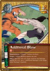 Additional Blow - J-US049 - Common - 1st Edition - Diamond Foil