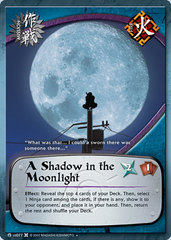 A Shadow in the Moonlight - M-US077 - Uncommon - 1st Edition - Foil