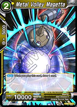 Metal Volley Magetta - DB2-106 - C - Foil
