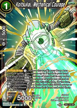 Koitsukai, Mechanical Courage - DB2-143 - SR