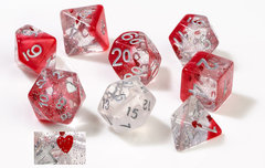 Dice Set - Hearts